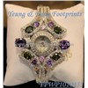 Imitation Crystal Fashion Watch
